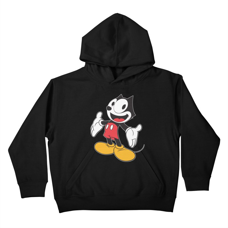FELIX THE MOUSE Kids Pullover Hoody by jrtoyman's Artist Shop