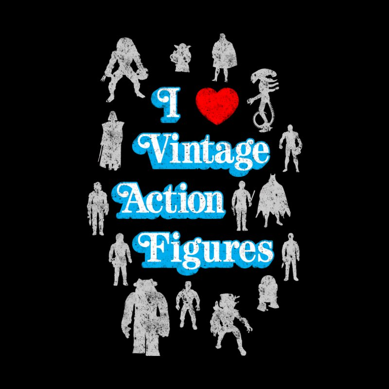 I LOVE VINTAGE FIGURES by jrtoyman's Artist Shop