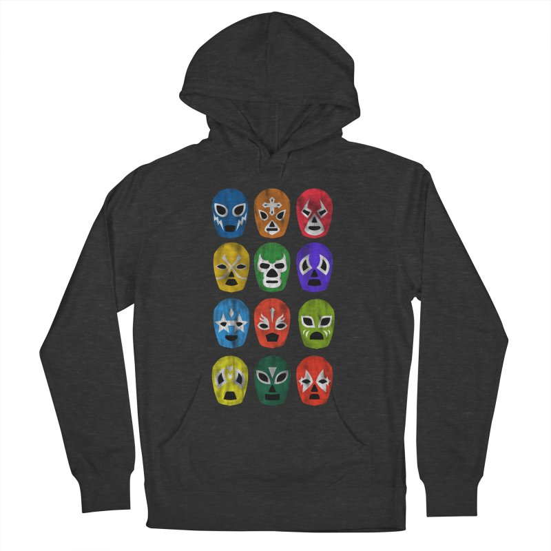 LUCHADORES Women's Pullover Hoody by jrtoyman's Artist Shop