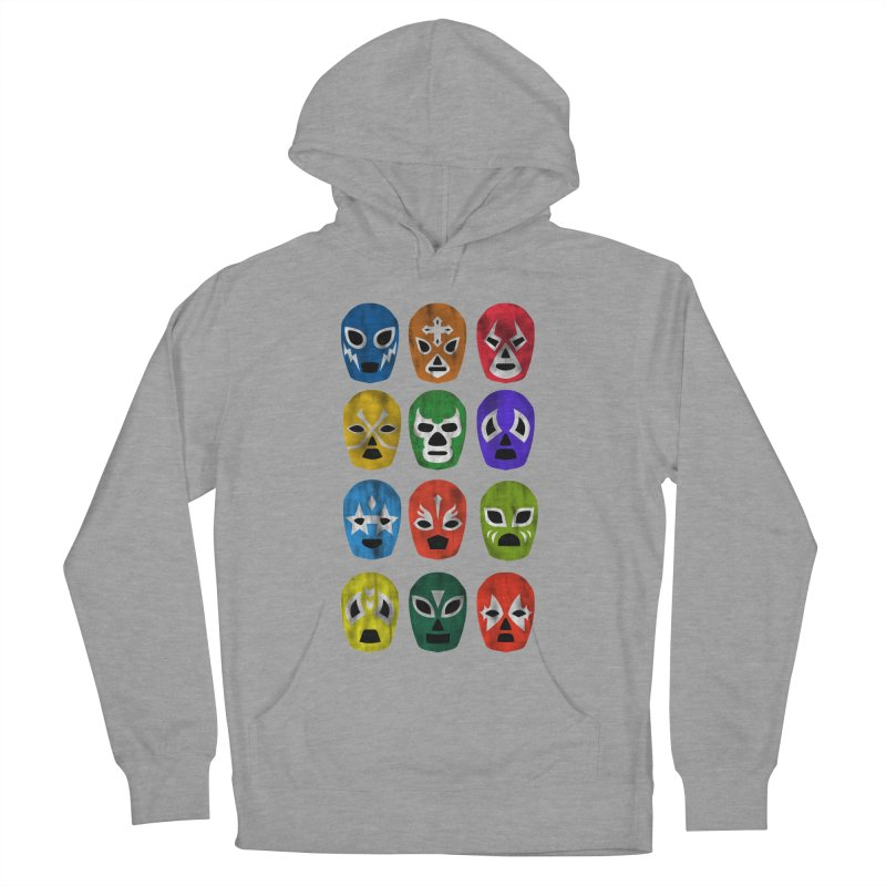 LUCHADORES Men's Pullover Hoody by jrtoyman's Artist Shop