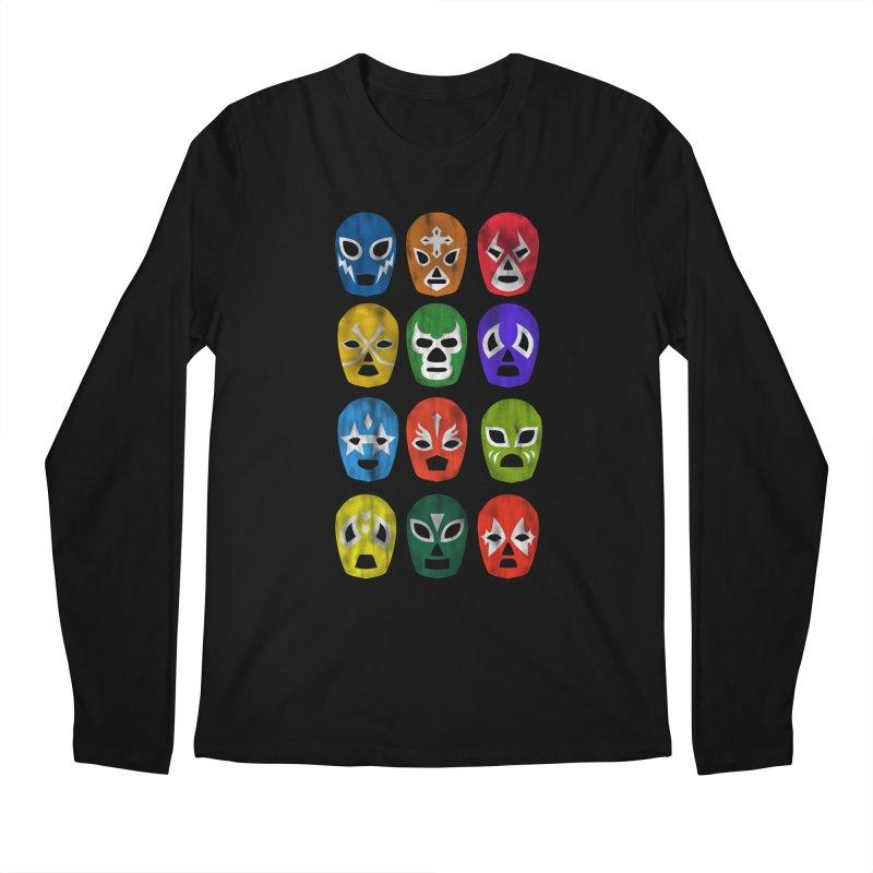 LUCHADORES Men's Longsleeve T-Shirt by jrtoyman's Artist Shop