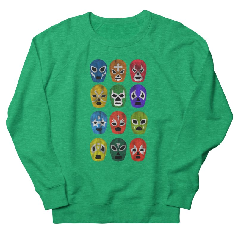 LUCHADORES Women's Sweatshirt by jrtoyman's Artist Shop