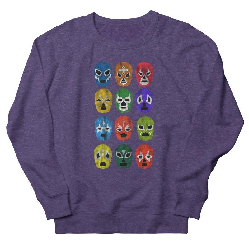 LUCHADORES Men's Sweatshirt by jrtoyman's Artist Shop