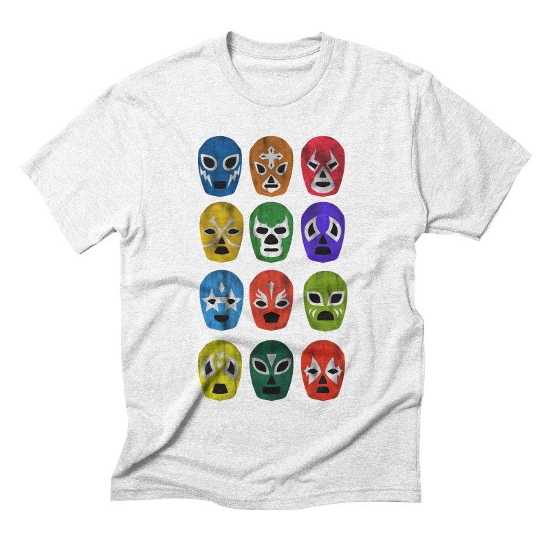 LUCHADORES Men's Triblend T-shirt by jrtoyman's Artist Shop