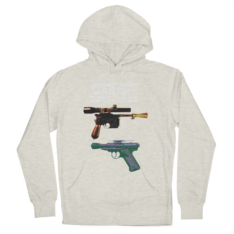 THE CANTINA BLASTER STANDOFF Women's Pullover Hoody by jrtoyman's Artist Shop