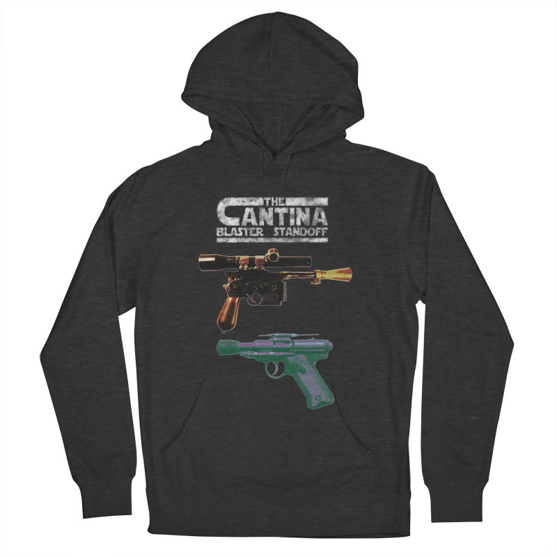 THE CANTINA BLASTER STANDOFF Men's Pullover Hoody by jrtoyman's Artist Shop