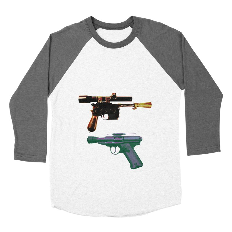 THE CANTINA BLASTER STANDOFF Men's Baseball Triblend T-Shirt by jrtoyman's Artist Shop