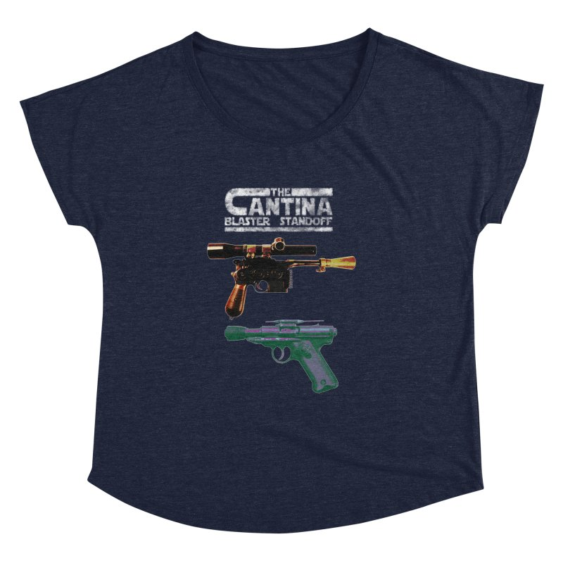 THE CANTINA BLASTER STANDOFF Women's Dolman by jrtoyman's Artist Shop