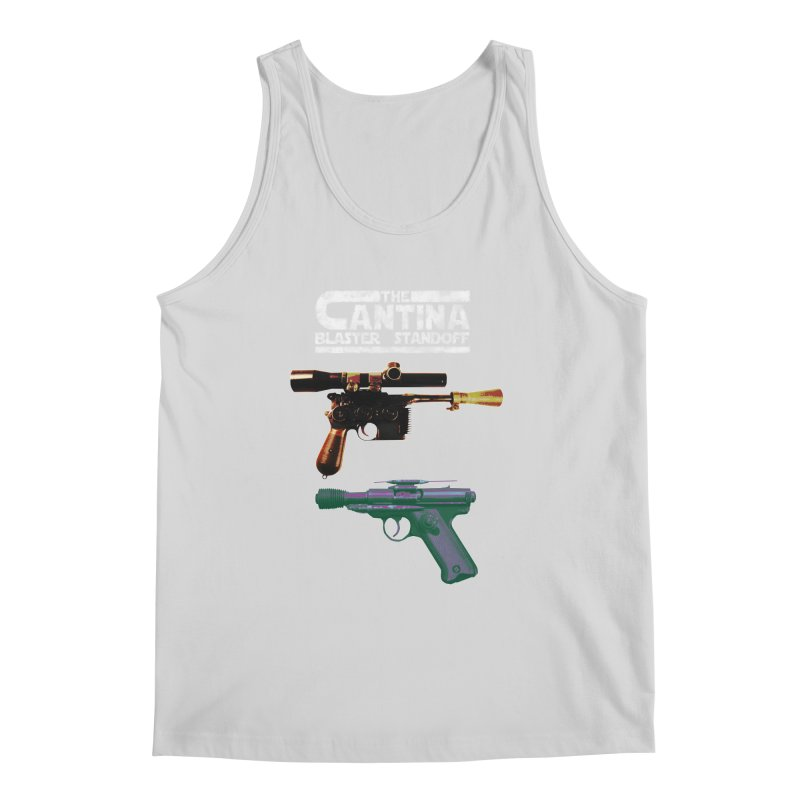 THE CANTINA BLASTER STANDOFF Men's Tank by jrtoyman's Artist Shop