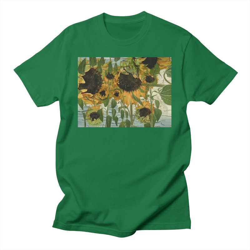 Sunflowerz Dudes T-Shirt by Jesse Singh's Artist Shop