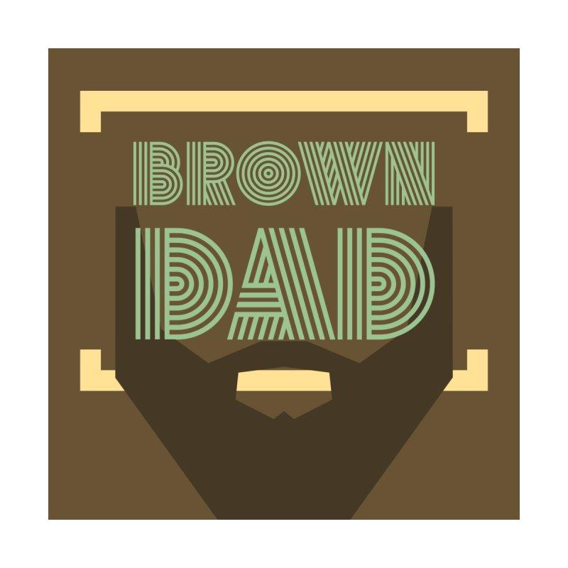 Brown Dad Dudes T-Shirt by Jesse Singh's Artist Shop