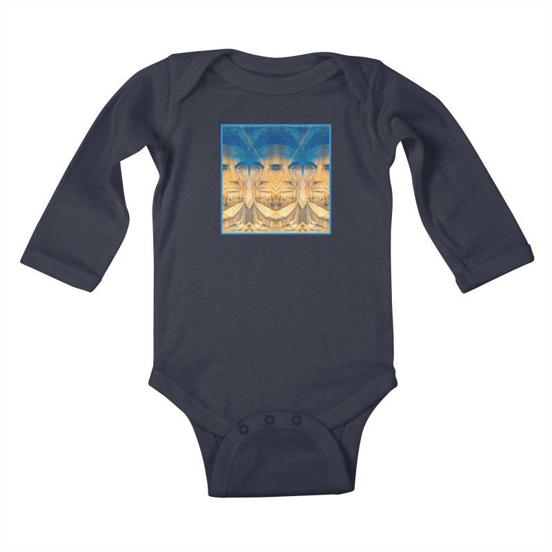 Illuminati Lil Ones Baby Longsleeve Bodysuit by Jesse Singh's Artist Shop