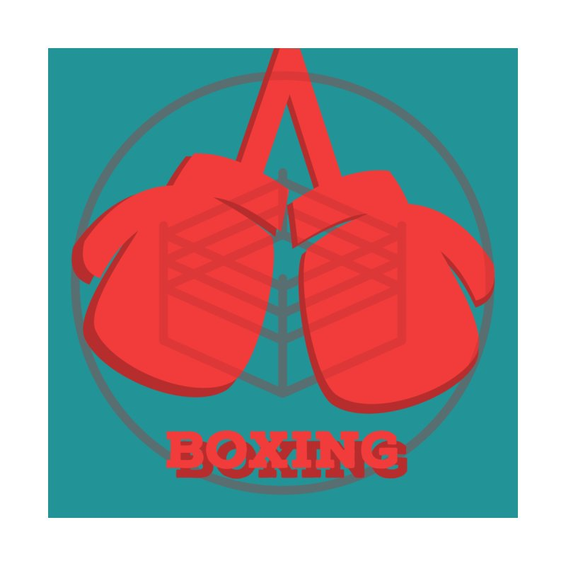 Boxing Lil Ones Pullover Hoody by Jesse Singh's Artist Shop