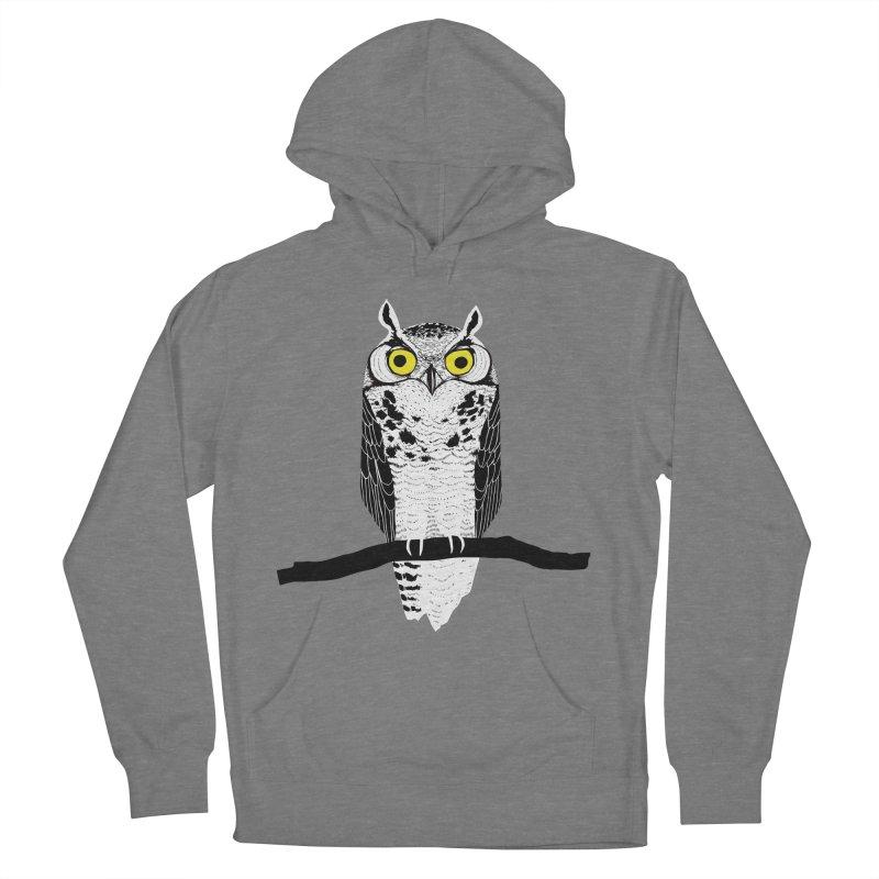 Great Owl Men's Pullover Hoody by jstumpenhorst