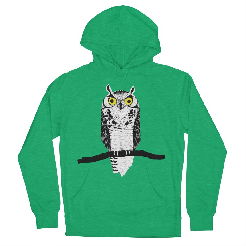 Great Owl Men's Pullover Hoody by jstumpenhorst