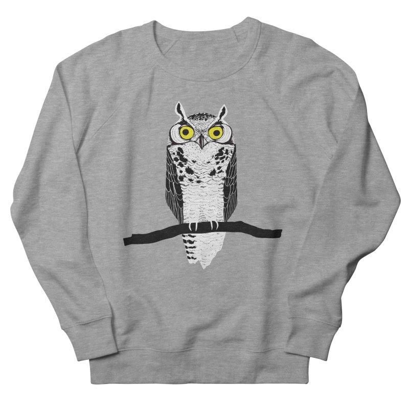 Great Owl Men's Sweatshirt by jstumpenhorst