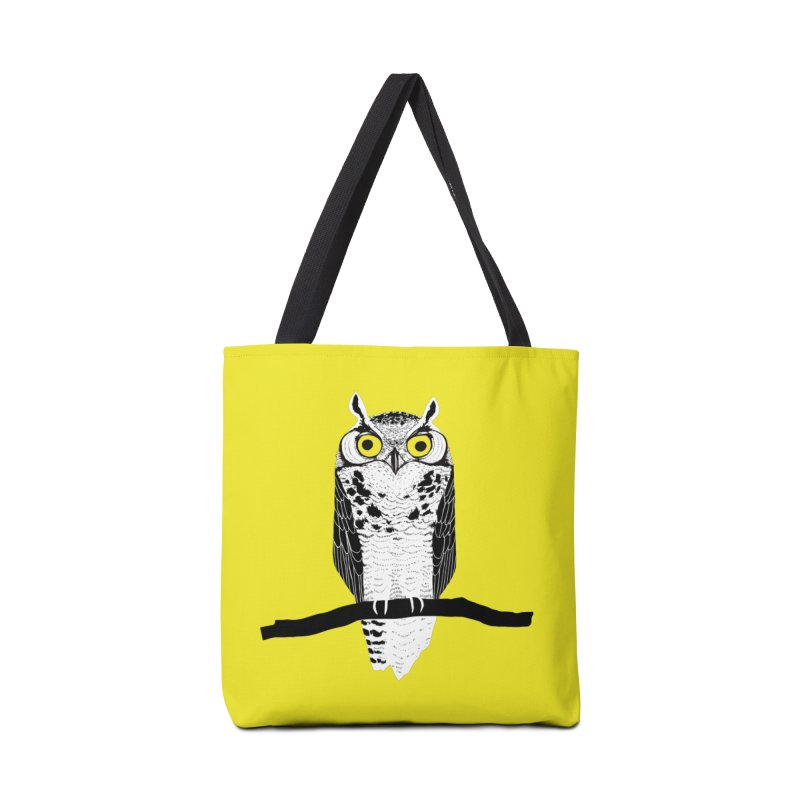 Great Owl Accessories Bag by jstumpenhorst