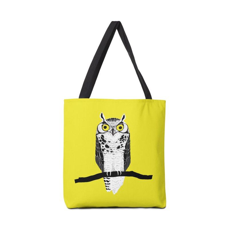 Great Owl Accessories Bag by jstumpenhorst
