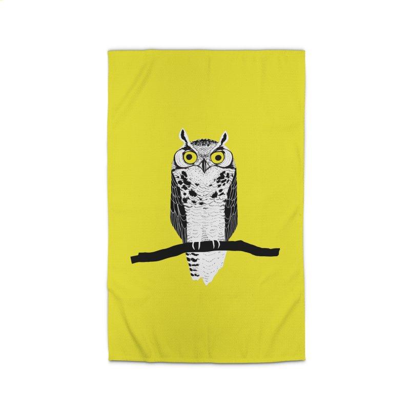 Great Owl Home Rug by jstumpenhorst