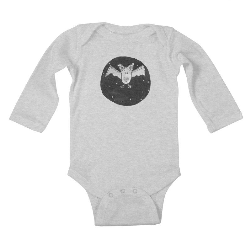 Bat Kids Baby Longsleeve Bodysuit by Tianguis