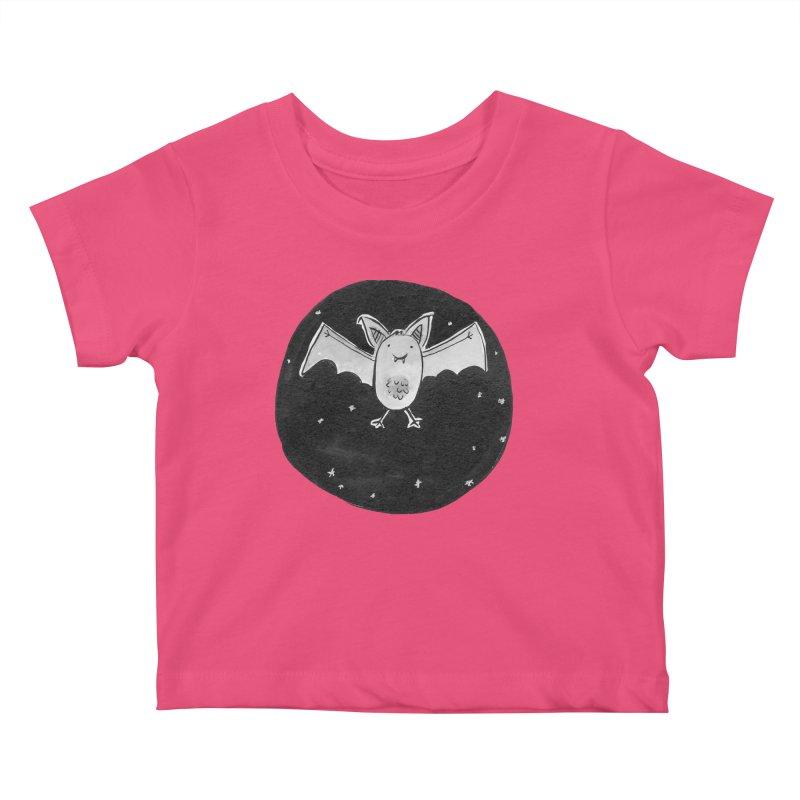 Bat Kids Baby T-Shirt by Tianguis
