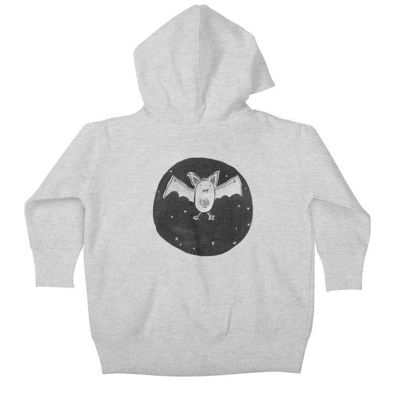 Bat Kids Baby Zip-Up Hoody by Tianguis