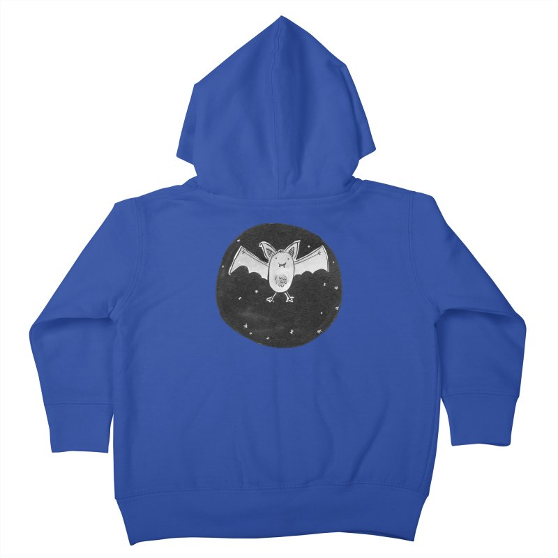 Bat Kids Toddler Zip-Up Hoody by Tianguis