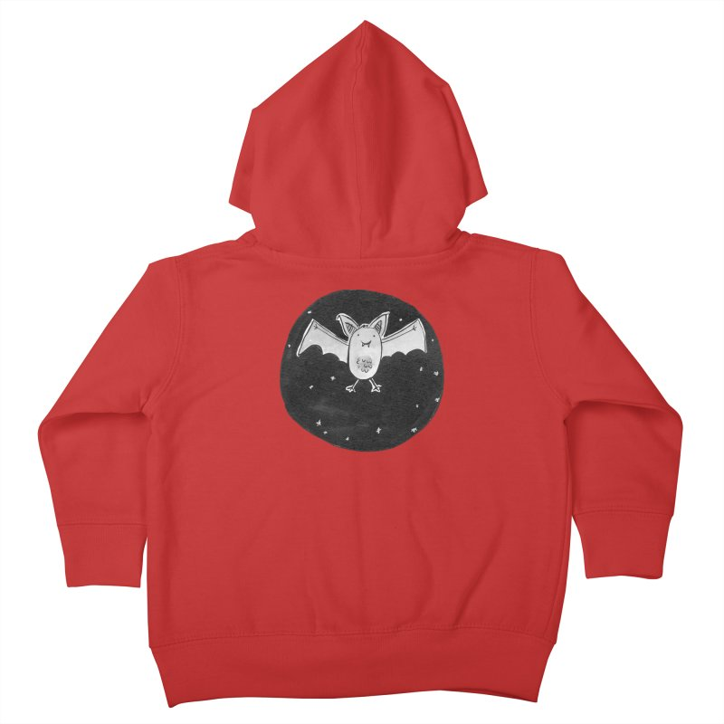 Bat Kids Toddler Zip-Up Hoody by Tianguis