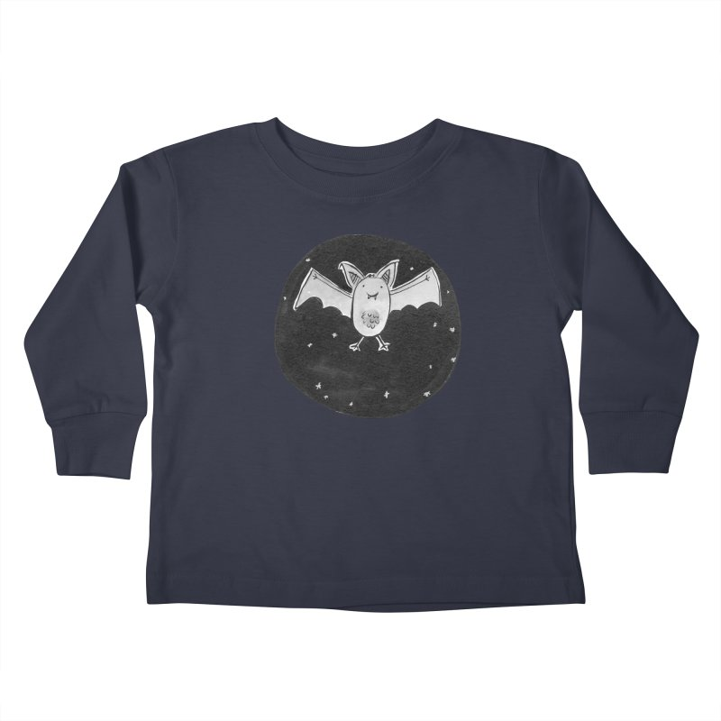 Bat Kids Toddler Longsleeve T-Shirt by Tianguis