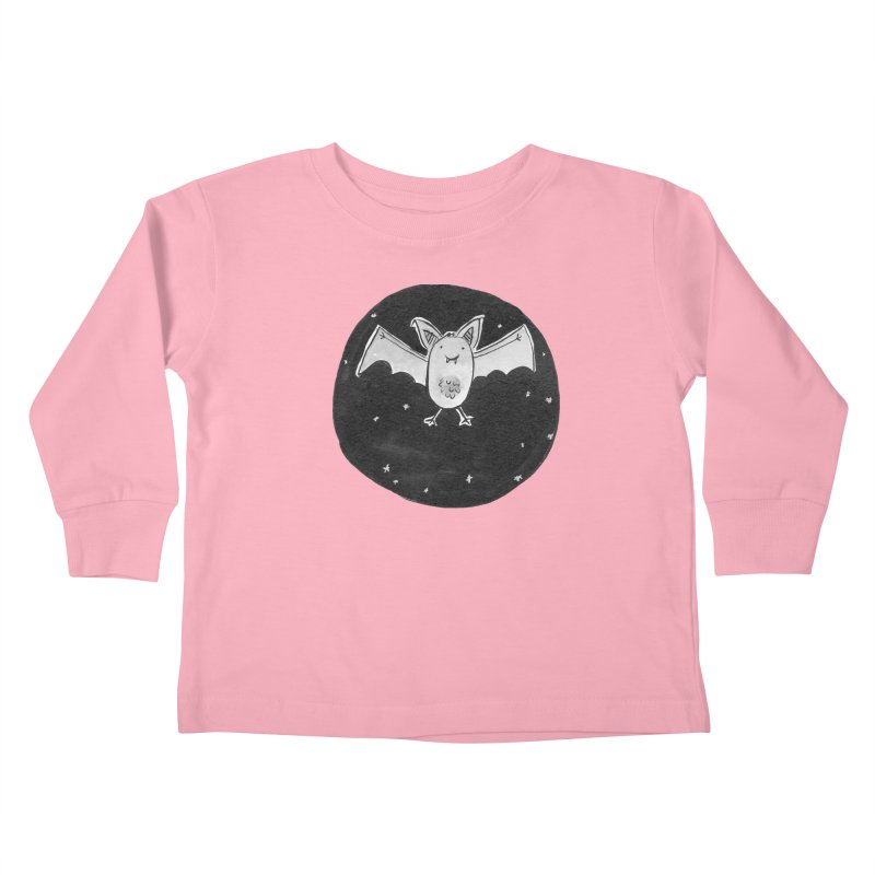 Bat Kids Toddler Longsleeve T-Shirt by Tianguis