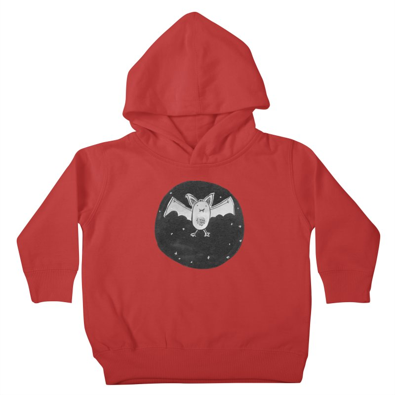 Bat Kids Toddler Pullover Hoody by Tianguis