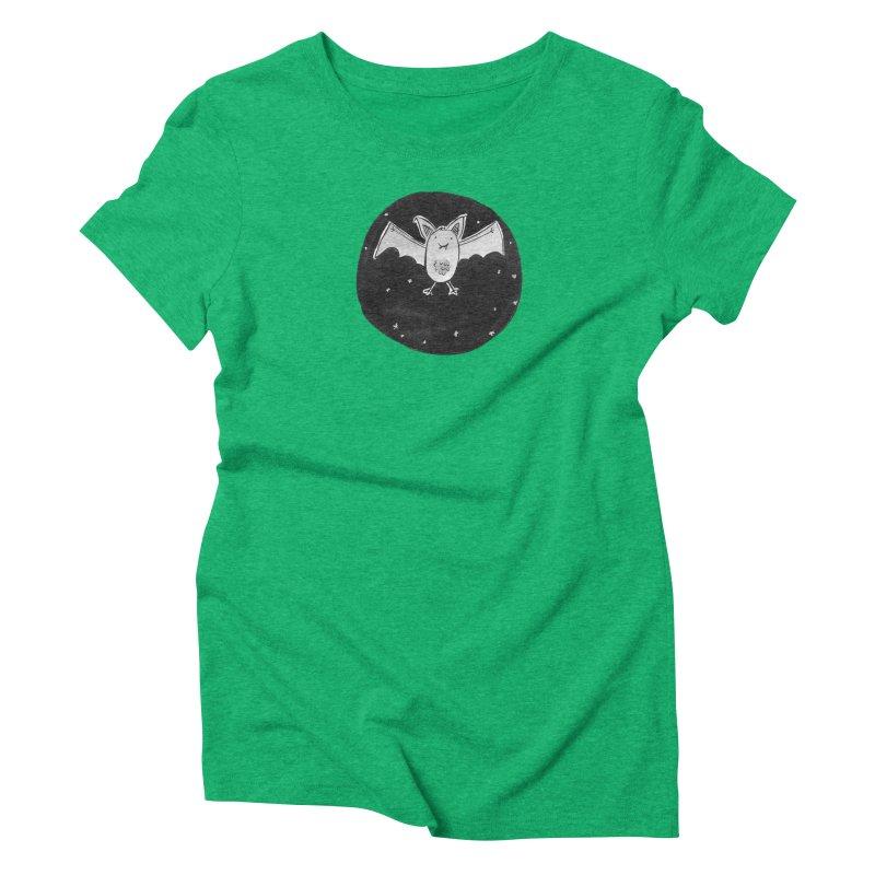 Bat Women's Triblend T-Shirt by Tianguis