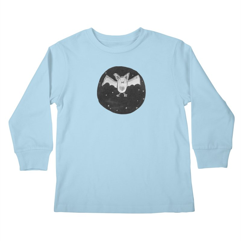 Bat Kids Longsleeve T-Shirt by Tianguis