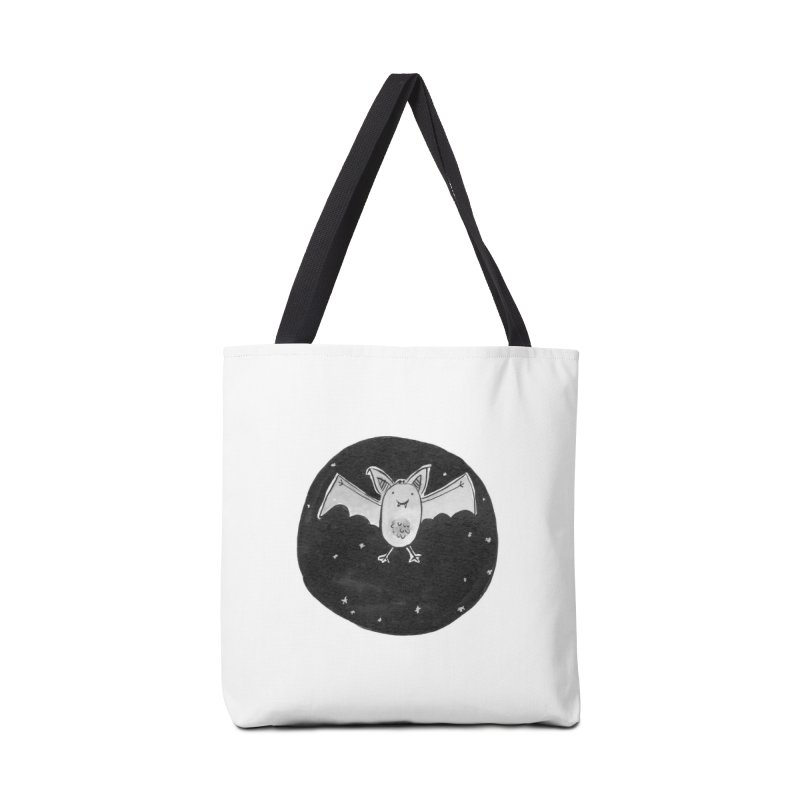 Bat Accessories Tote Bag Bag by Tianguis