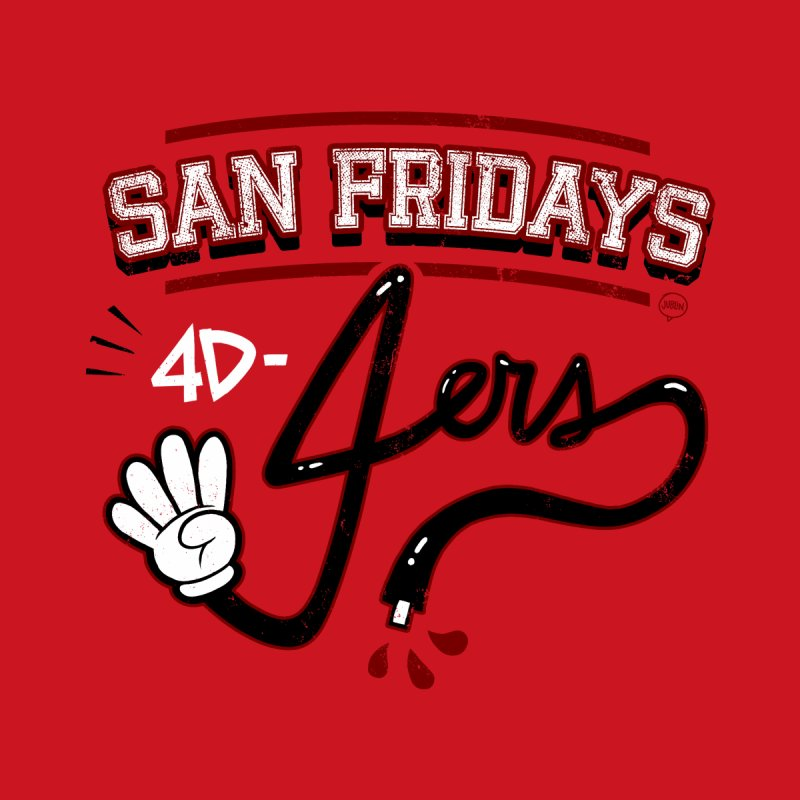 San Fridays Men's T-Shirt by jublin's Artist Shop