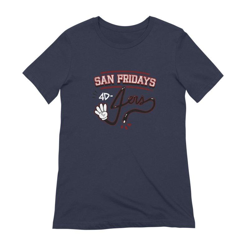 San Fridays Women's Extra Soft T-Shirt by jublin's Artist Shop