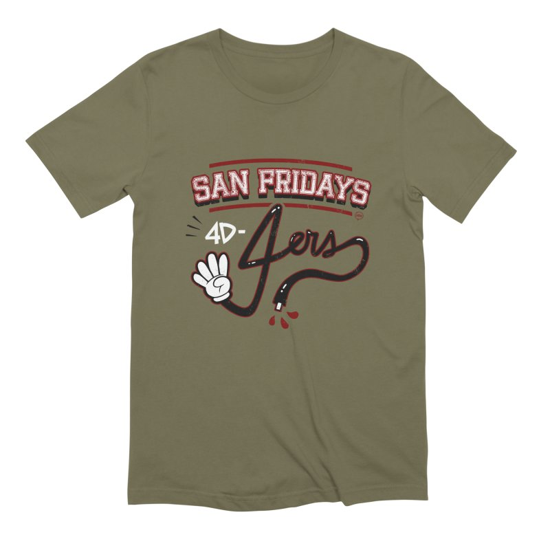 San Fridays Men's Extra Soft T-Shirt by jublin's Artist Shop