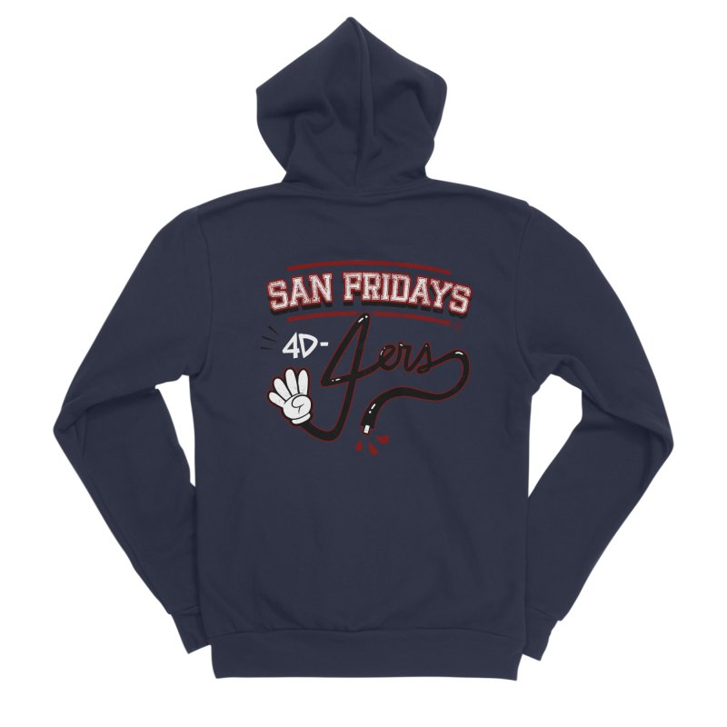San Fridays Men's Sponge Fleece Zip-Up Hoody by jublin's Artist Shop