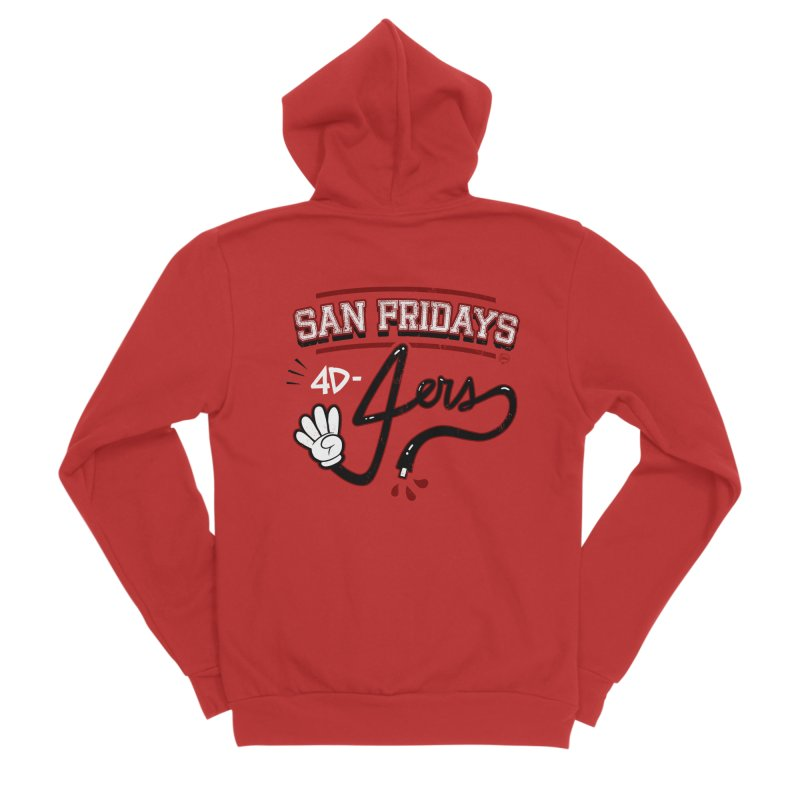 San Fridays Men's Zip-Up Hoody by jublin's Artist Shop
