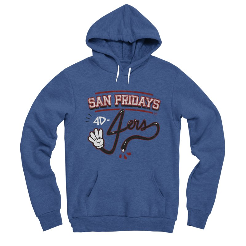 San Fridays Women's Sponge Fleece Pullover Hoody by jublin's Artist Shop