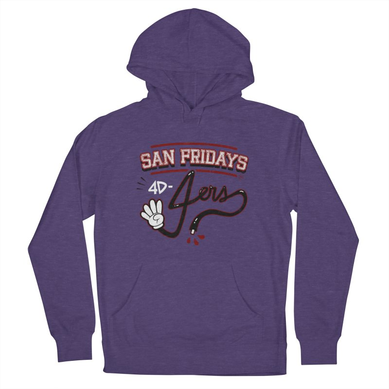San Fridays Women's French Terry Pullover Hoody by jublin's Artist Shop