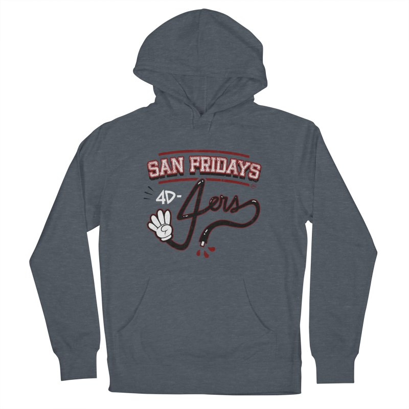 San Fridays Men's French Terry Pullover Hoody by jublin's Artist Shop