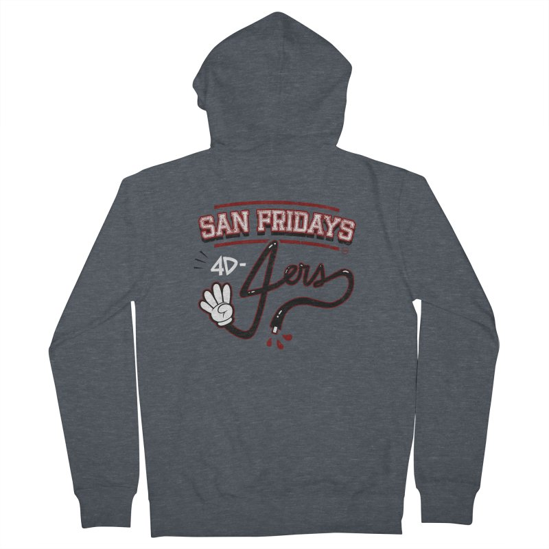 San Fridays Women's French Terry Zip-Up Hoody by jublin's Artist Shop