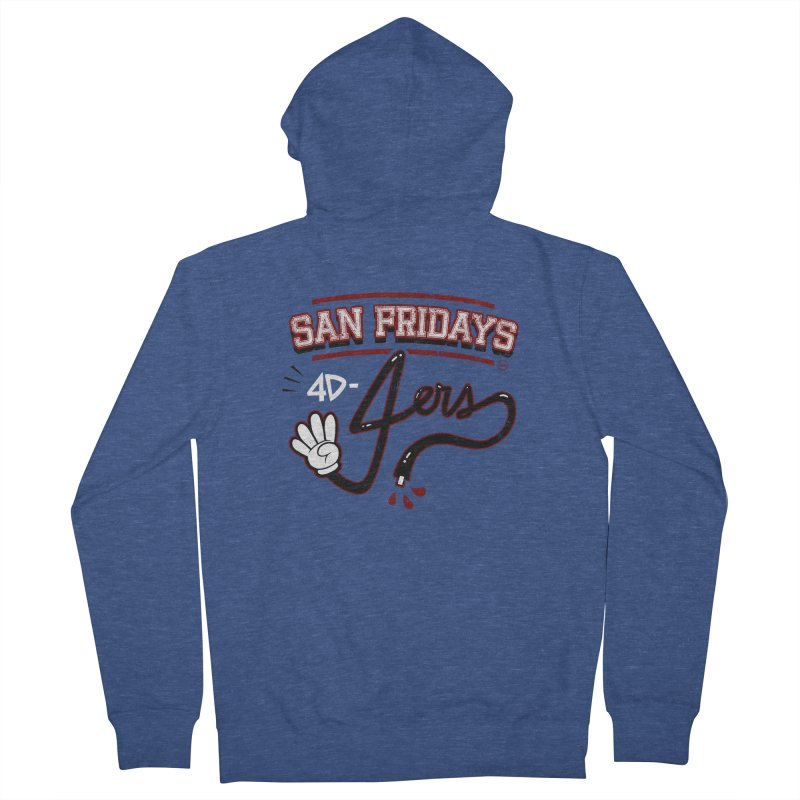 San Fridays Men's French Terry Zip-Up Hoody by jublin's Artist Shop