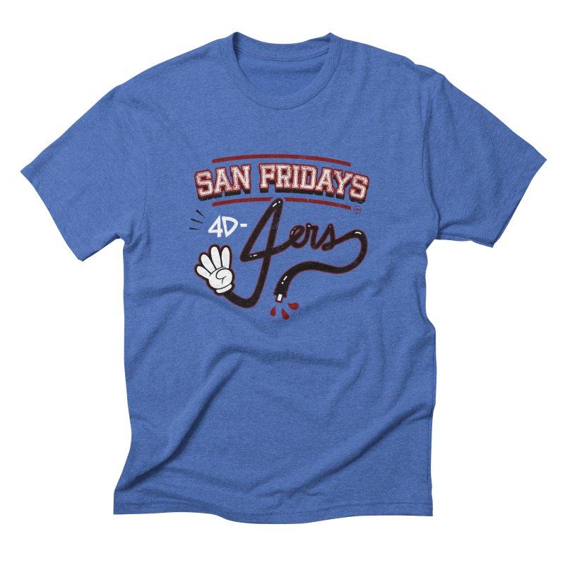 San Fridays Men's Triblend T-Shirt by jublin's Artist Shop