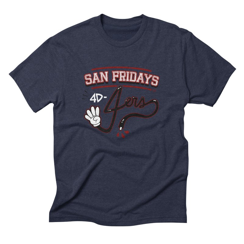 San Fridays Men's Triblend T-Shirt by jublin's Artist Shop