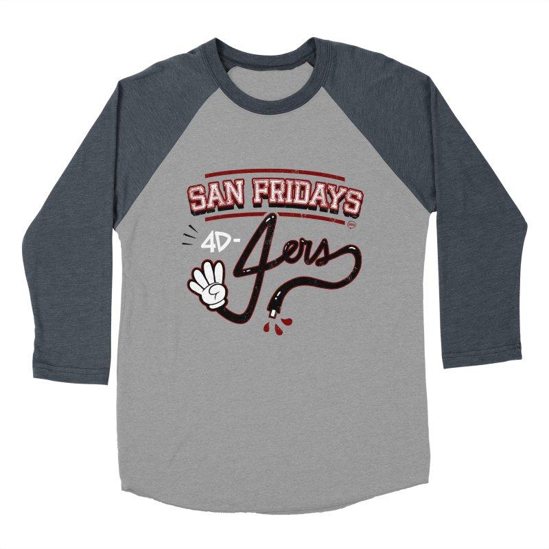 San Fridays Women's Baseball Triblend Longsleeve T-Shirt by jublin's Artist Shop