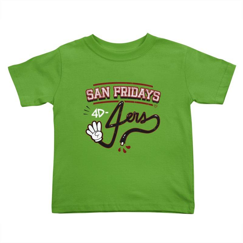 San Fridays Kids Toddler T-Shirt by jublin's Artist Shop