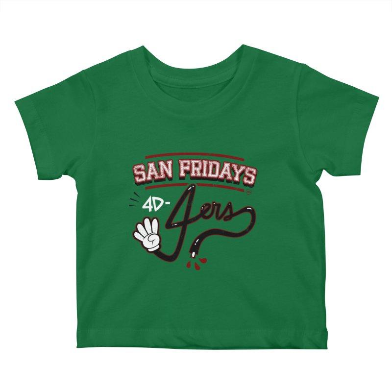 San Fridays Kids Baby T-Shirt by jublin's Artist Shop