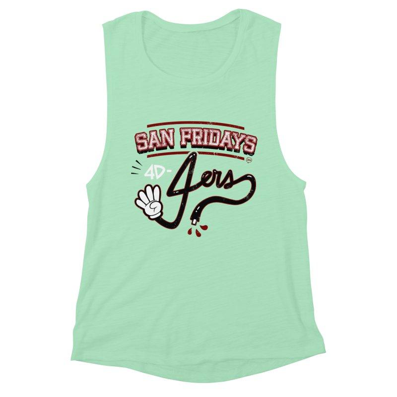 San Fridays Women's Muscle Tank by jublin's Artist Shop